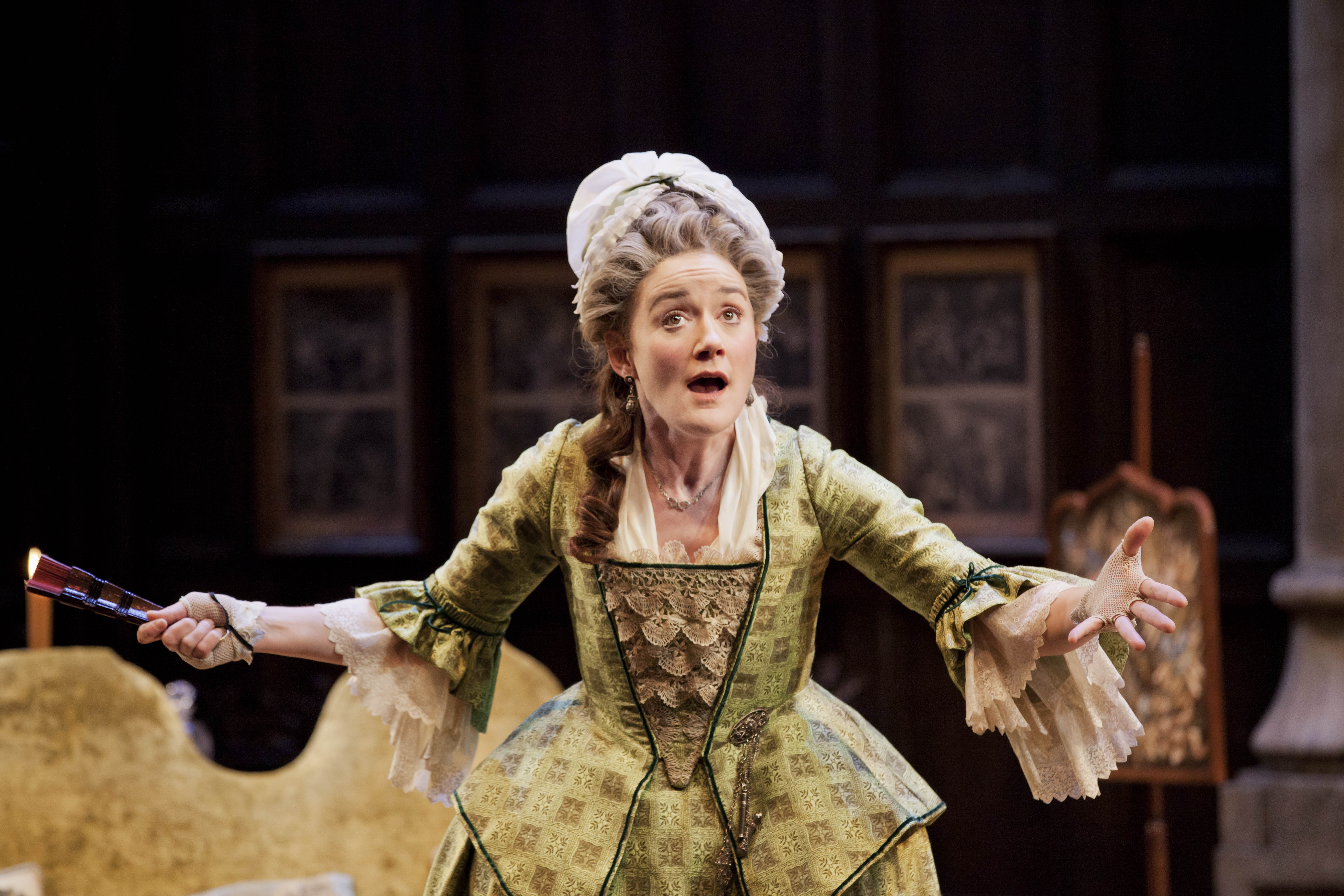 SHE STOOPS TO CONQUER by Goldsmith