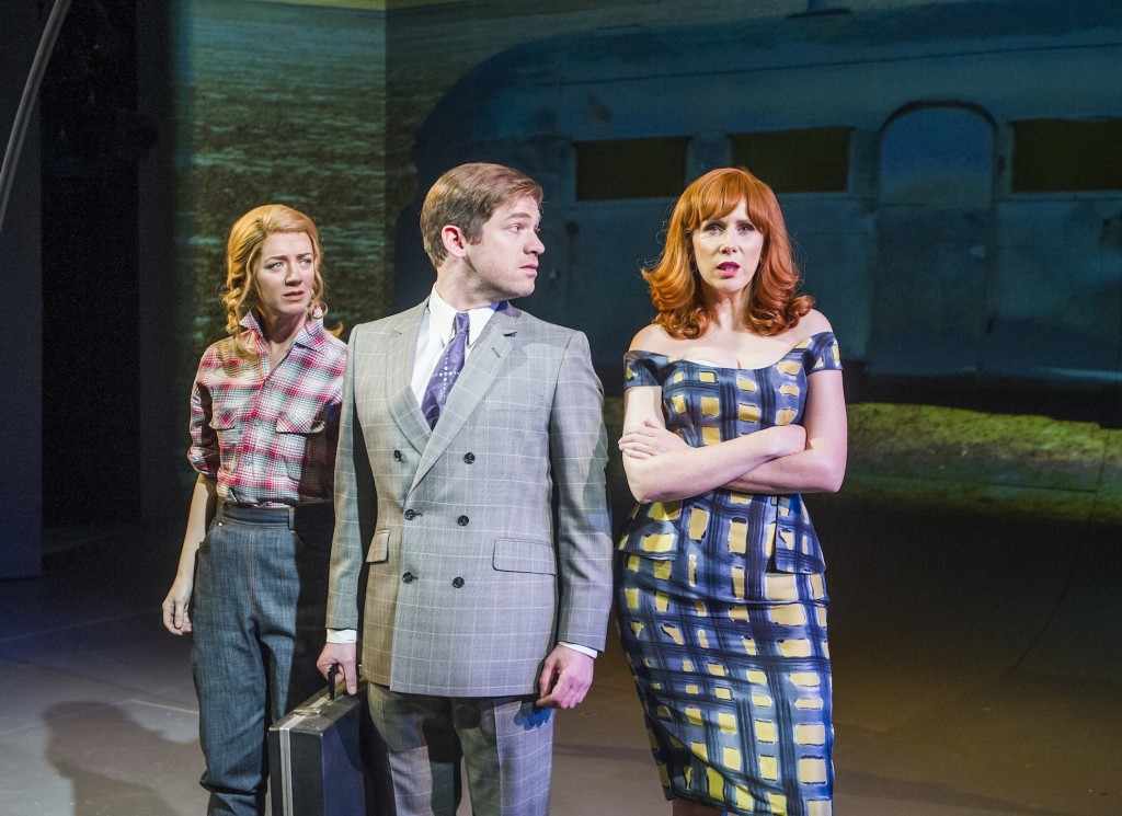 Florence Andrews, Daniel Boys and Catherine Tate
