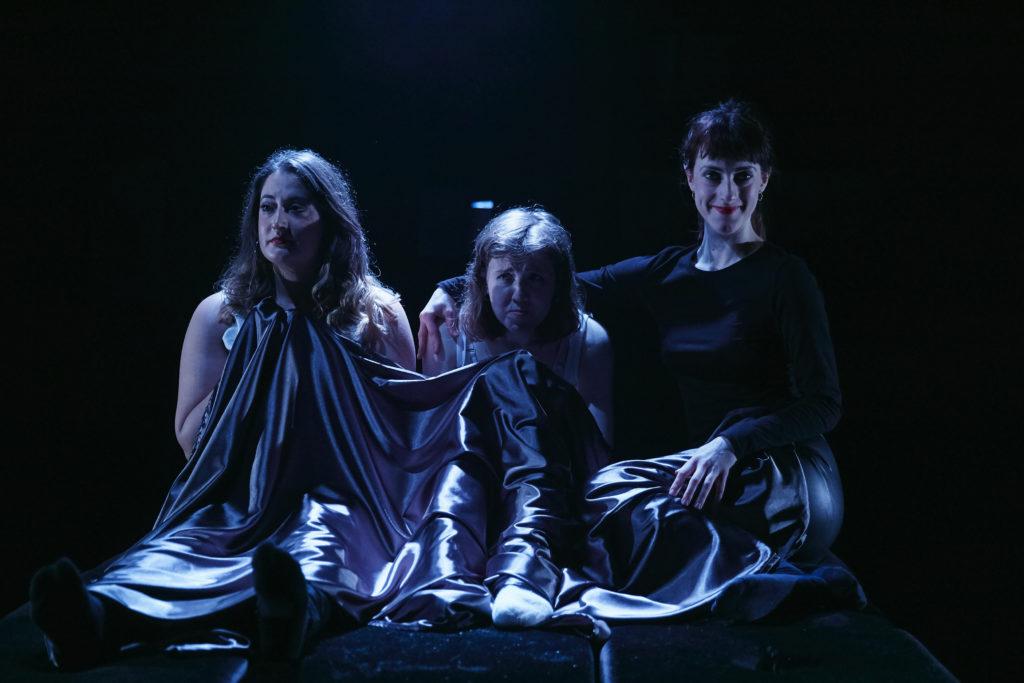 Rebekah Hinds, Izzy Tennyson and Grace Chilton