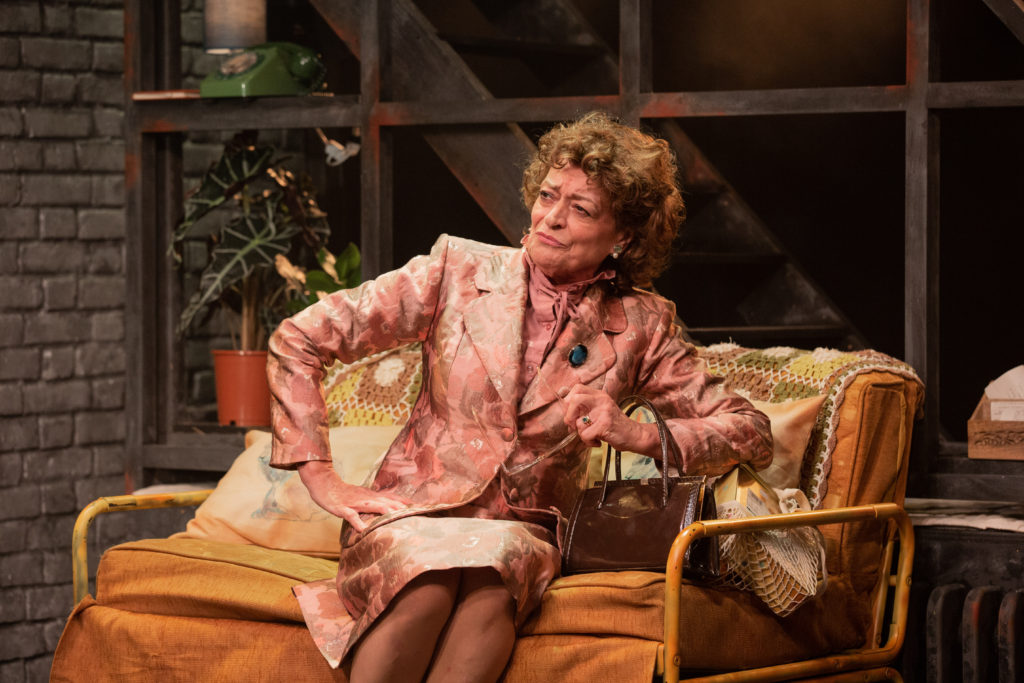 Bernice Stegers in Torch Song at the Turbine Theatre