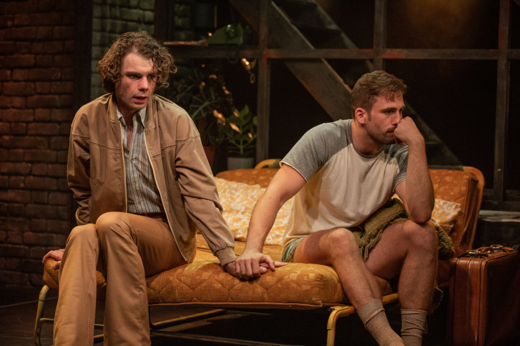 Matthew Needham & Dino Fetscher in Torch Song at the Turbine Theatre