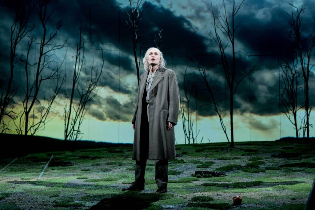 "James McArdle in ""Peter Gynt"" at the National Theatre"