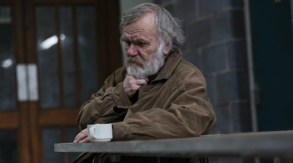 Alan Williams in 'Faith, Hope and Charity' at the National Theatre