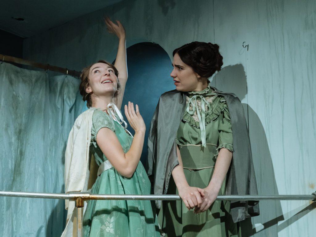 "Jordon Stevens & Natasha Cowley in ""Fast"" at the Park Theatre"