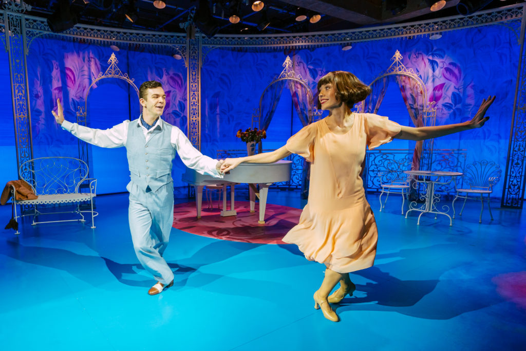 Jack Butterworth and Gabrielle Lewis-Dodson in 'The Boyfriend' at the Menier Chocolate Factory