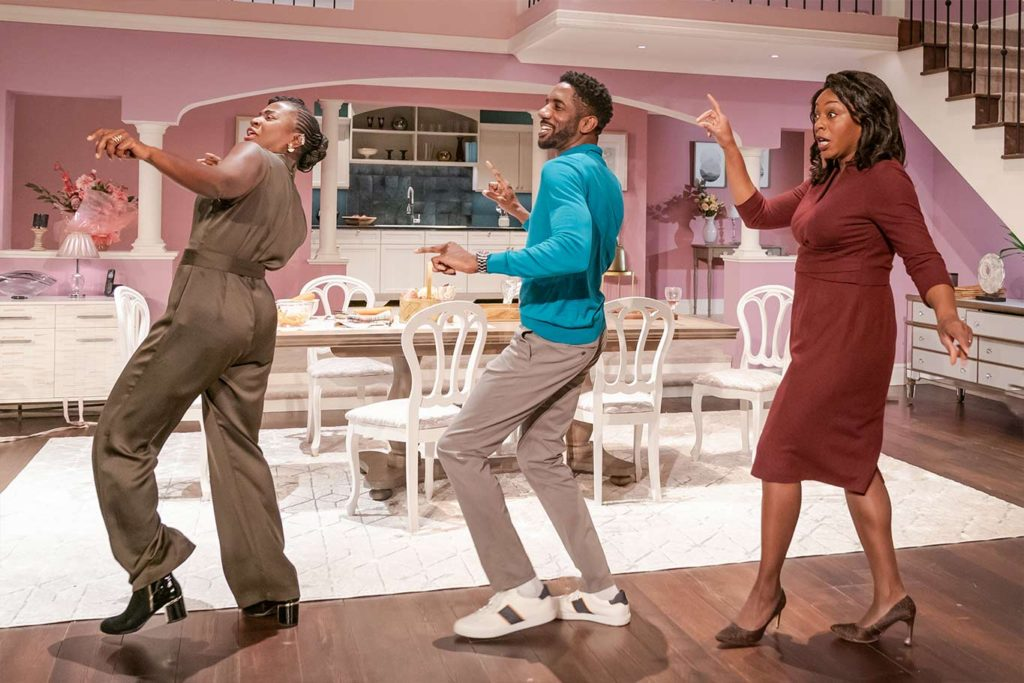 """The cast of """"Fairview"""" at the Young Vic"""
