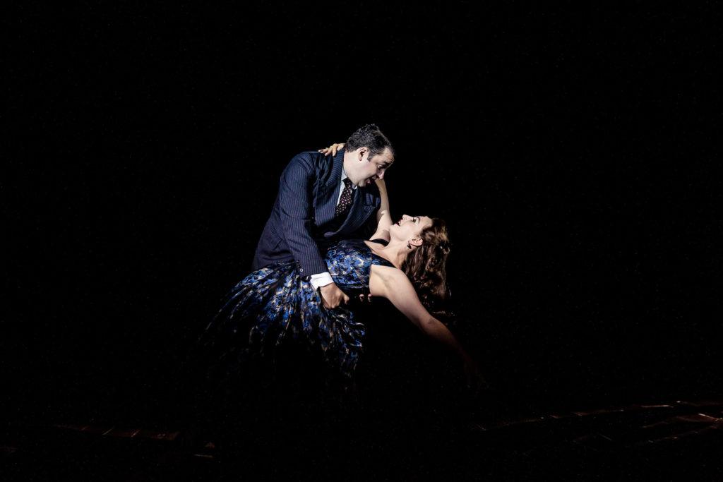 Jason Manford and Leah Barbara West
