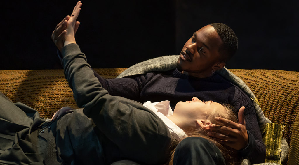 """Durone Stokes and Gemma Dobson in """"A Taste of Honey"""" credit Marc Brenner"""