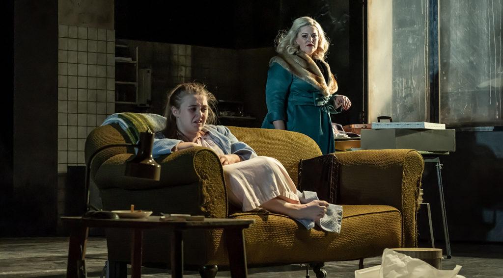 Gemma Dobson and Jodie Prenger in 'A Taste of Honey'