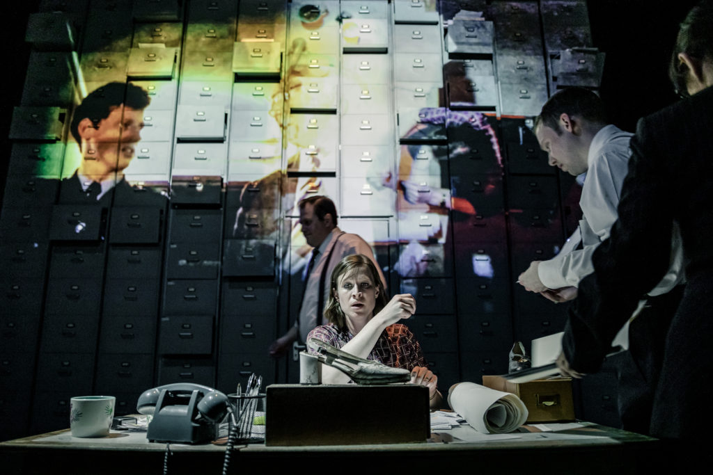 The Incident Room at the New Diorama Theatre credit The Other Richard