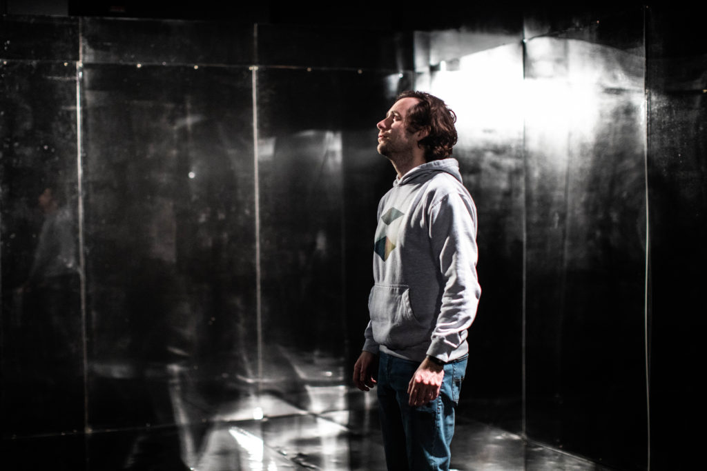 Sam Crane in 'The Rage of Narcissus' by Sergio Blanco at the Pleasance Theatre