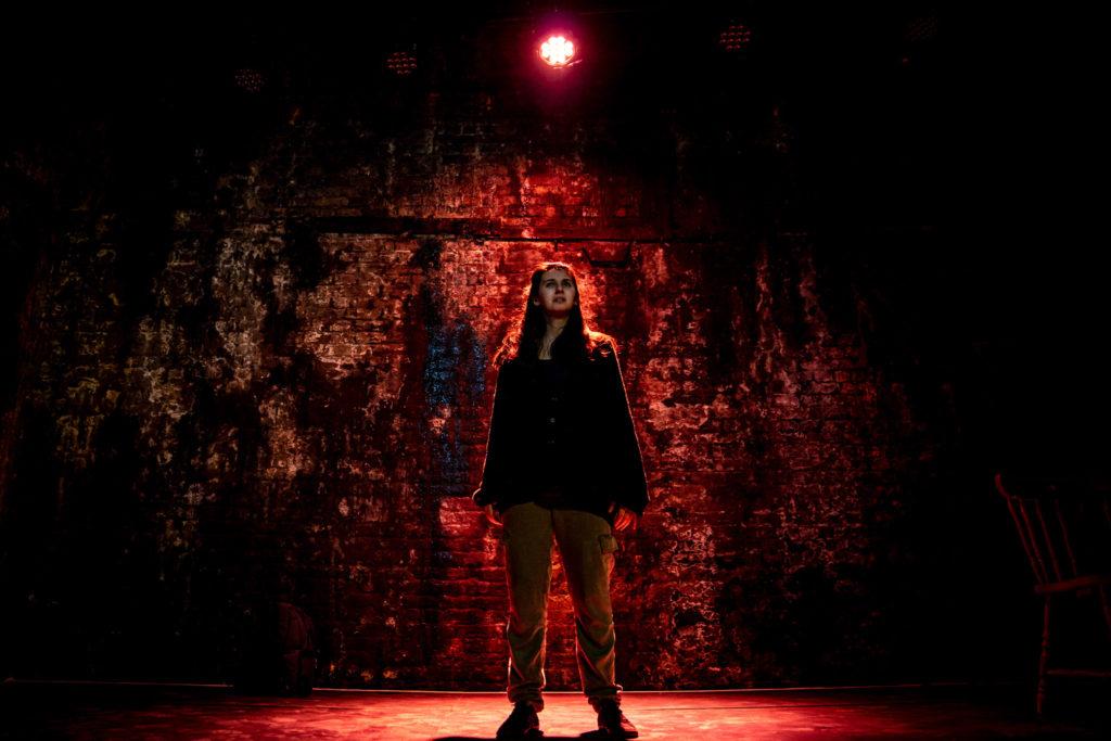 Sophia Eleni in 'On Arriving' credit Steve Gregson